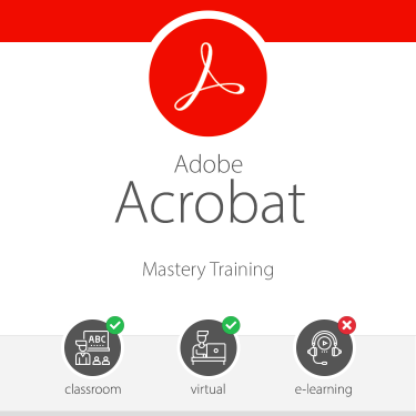 Acrobat Mastery Training