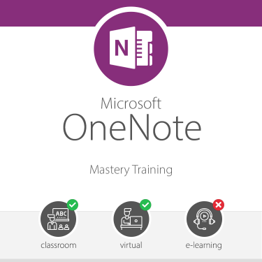 OneNote Mastery Training