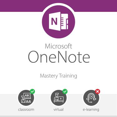 OneNote Mastery Training