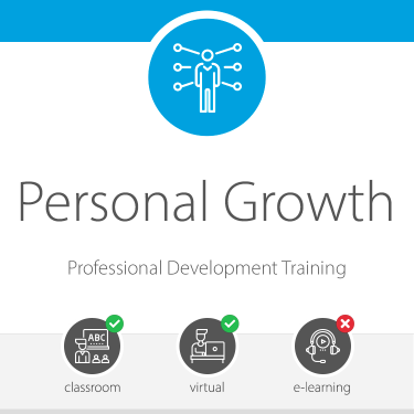 Personal Growth Professional Development Training