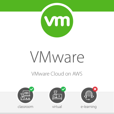 VMware -VMware Cloud on AWS Training