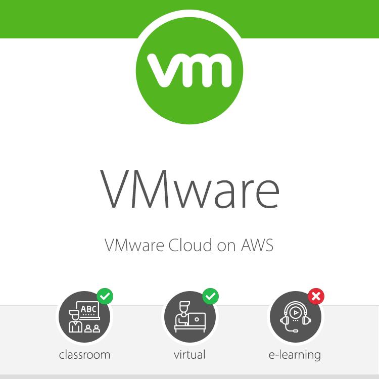 VMware -VMware Cloud on AWS Training