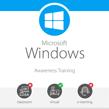 Windows 10 Awareness Training