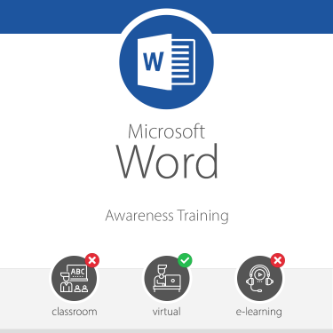 Microsoft Word Awareness Training